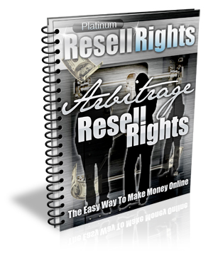 Resell Rights Arbitrage - Free Report